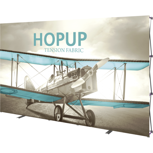 Hopup 13ft Straight Full Height Tension Fabric Display