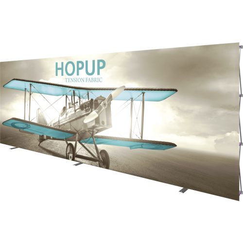 Hopup 20ft Straight Full Height Tension Fabric Display