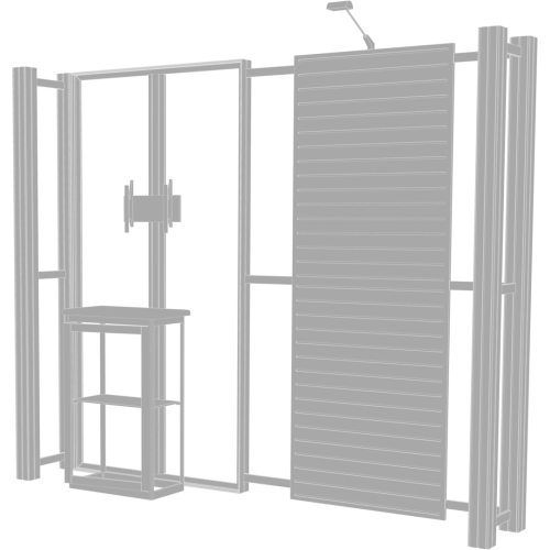 Hybrid Pro 10ft Modular Backwall Kit 08