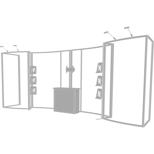 Hybrid Pro 20ft Modular Backwall Kit 10
