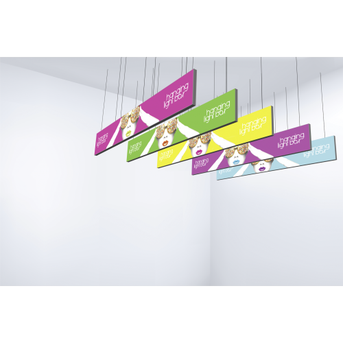 Vector Frame Hanging Light Box 30ft x 5ft