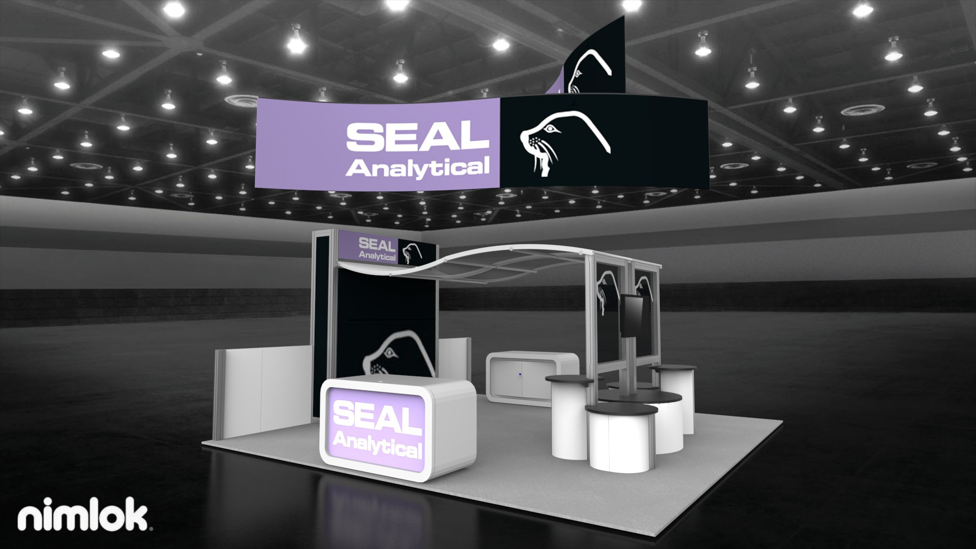 Seal Analytical 20x20 Island