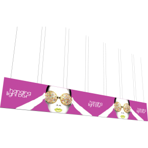 Vector Frame Hanging Light Box 40ft x 6ft