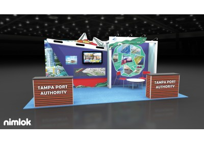Tampa Port Authority 10x20 Inline