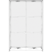 Embrace 5ft Full Height Backlit Push-Fit Tension Fabric Display